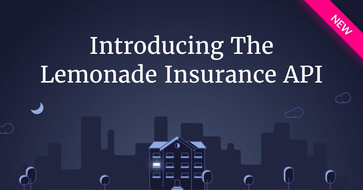 הצגת ממשק API לביטוח לימונדה